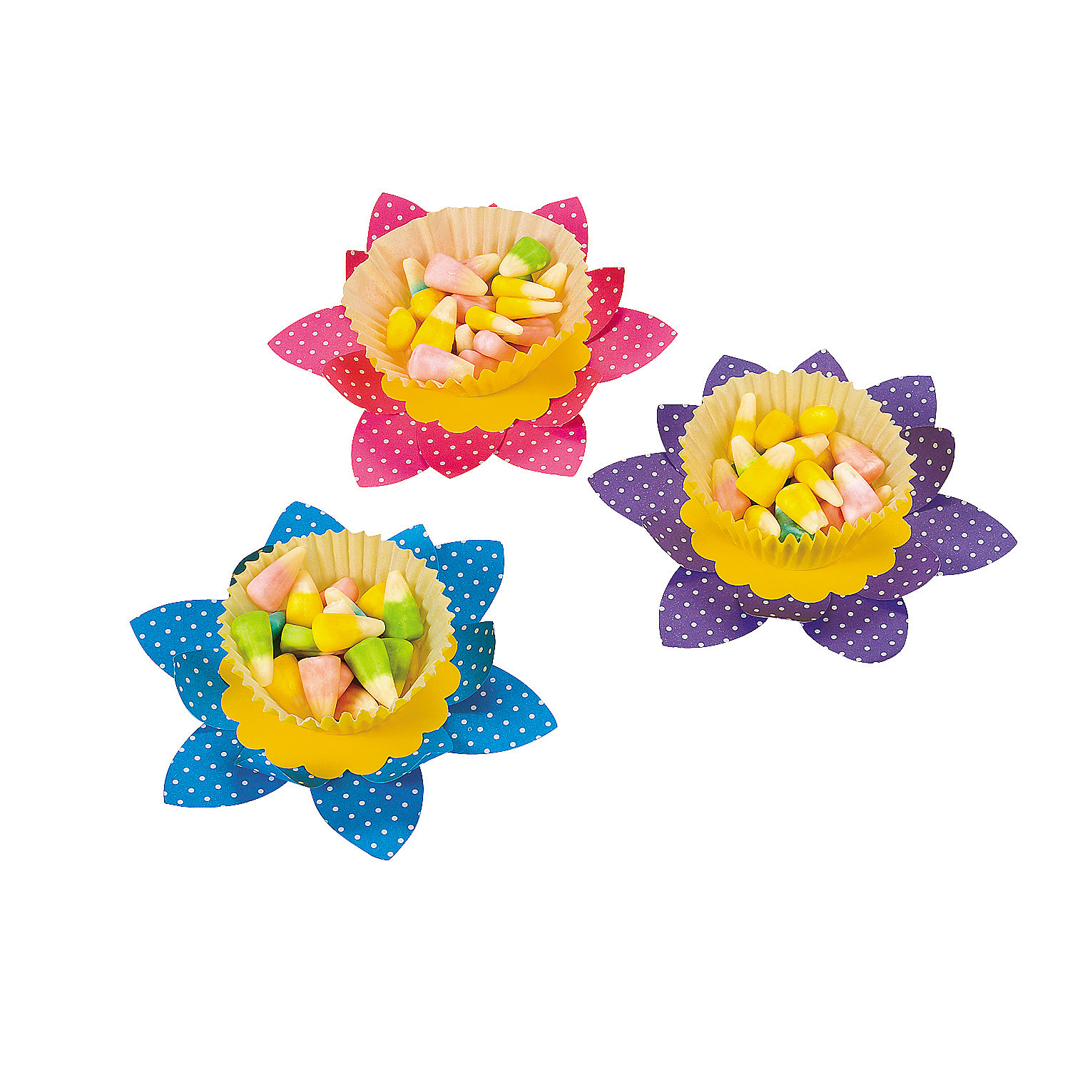 Spring Flower Candy Cup Craft Kit - Oriental Trading ... - photo#35