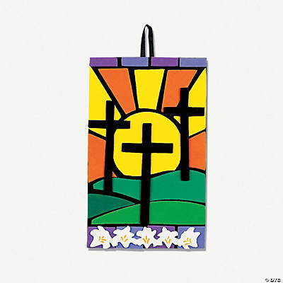 Mosaic Cross Scene Craft Kit