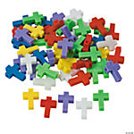Cross-Shaped Beads - 25mm