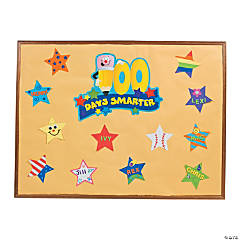 "26 Pc. DIY ""100 Days Of School"" Bulletin Board Set"
