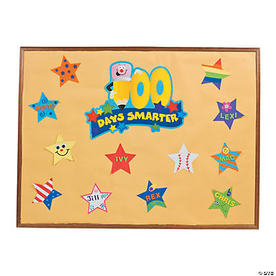 26 Pc. DIY 100th Day of School of School Bulletin Board Set