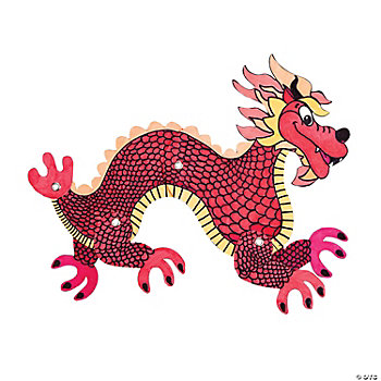 DIY Jointed Dragon Cutouts