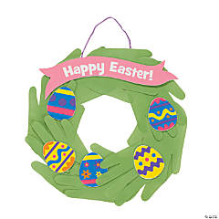 Handprint Easter Wreaths Craft Kit