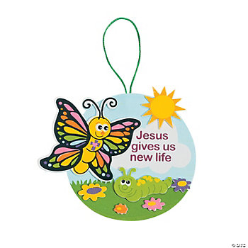 """Jesus Gives Us New Life"" Sign Craft Kit"