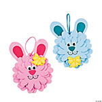 Flower Bunny Ornament Craft Kit