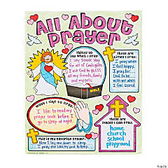 "Color Your Own ""All About Prayer"" Posters"