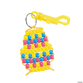 Easter Egg Pony Bead Clip Craft Kit