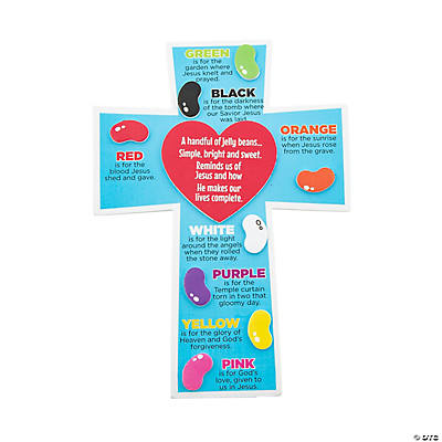 Jelly Bean Prayer Magnets Craft Kit