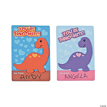 """Dino-Mite"" Valentine Craft Kit"