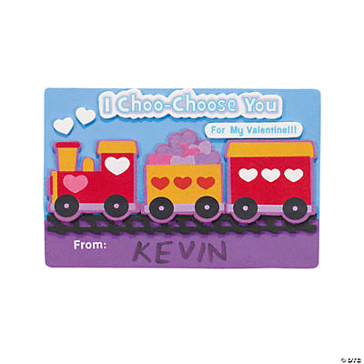 Train Valentine Craft Kit