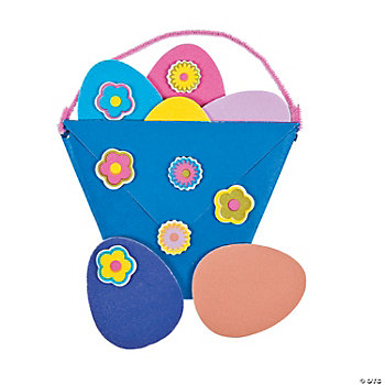 Folded Easter Egg Basket Craft Kit