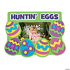 Easter Egg Hunt Photo Frame Magnet Craft Kit