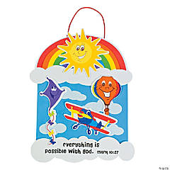 Up & Away Inspirational Sign Craft Kit