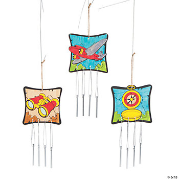 Color Your Own Awesome Adventure Wind Chimes
