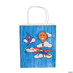 Color Your Own Up & Away Take Home Bags