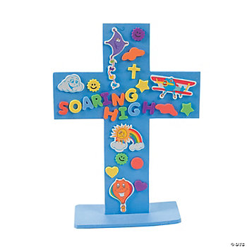 DIY Up & Away Stand-Up Cross Craft Kit
