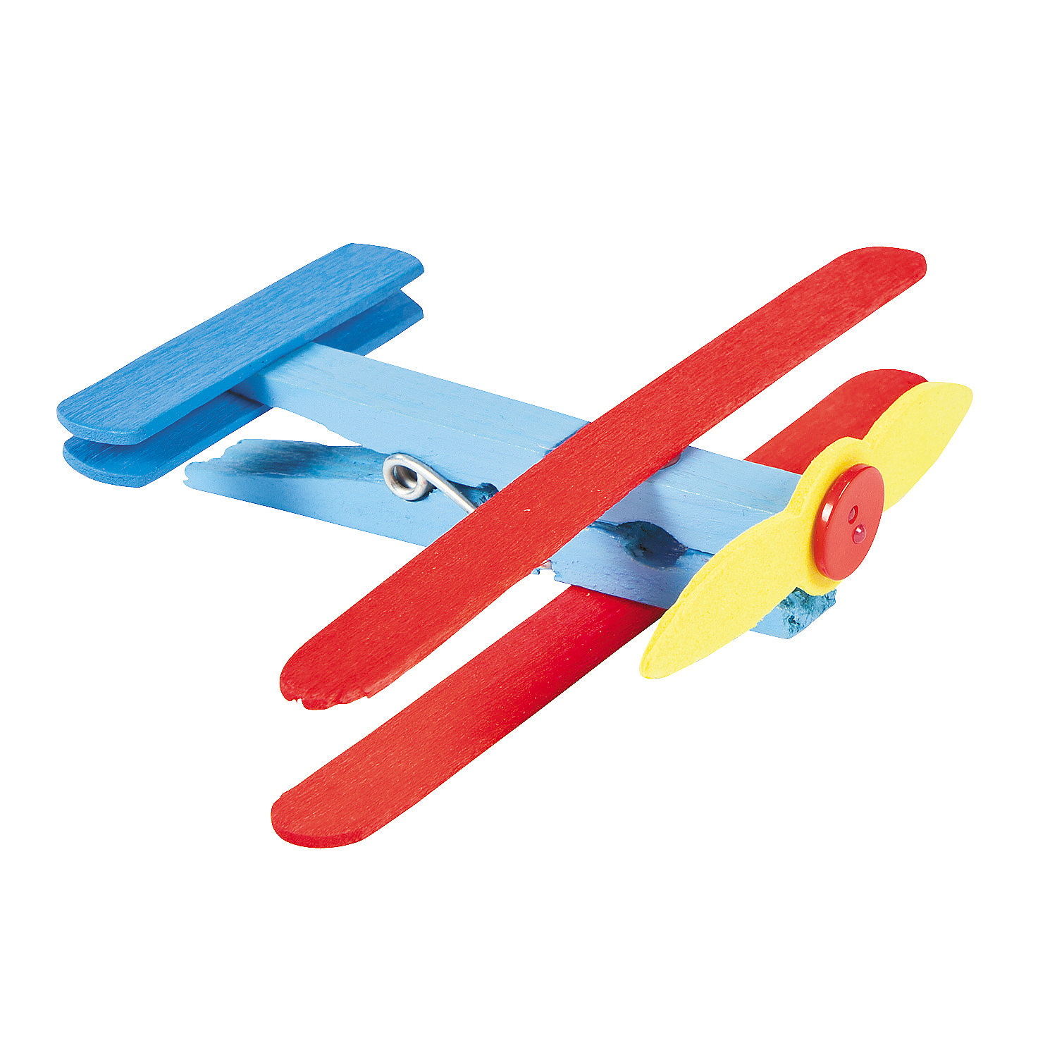 clothespin airplane craft kit oriental trading
