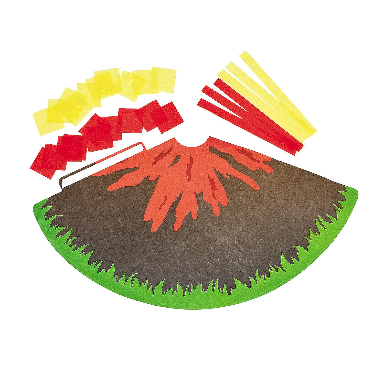 Volcano Craft For Kids