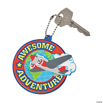 Awesome Adventure Key Chain Craft Kit