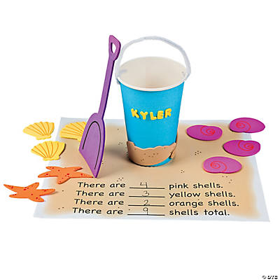 Seaside Learning Counting Craft Kit