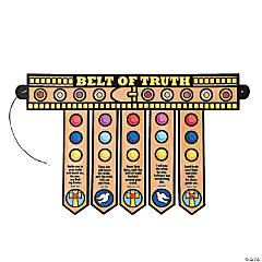 Color Your Own Armor of God Belt