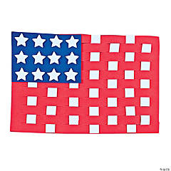 Flag Weaving Craft Kit