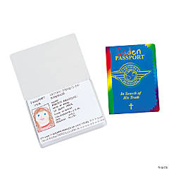 Magic Color Scratch Passport Booklets