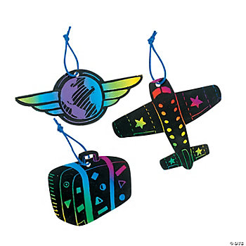 Magic Color Scratch Awesome Adventure Ornaments