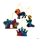 Magic Color Scratch Babylon Ornaments