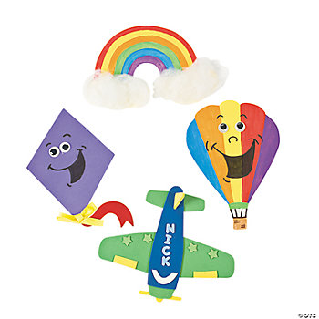 Up & Away Jumbo Foam Shapes