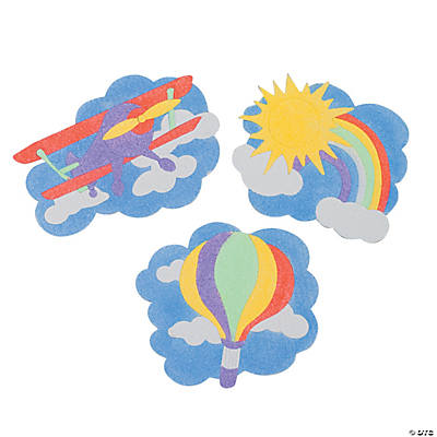 Up & Away Sand Art Magnet Craft Kit