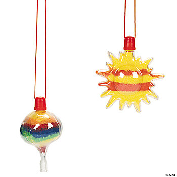 Up & Away Sand Art Bottle Necklaces