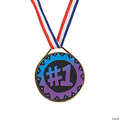 Magic Color Scratch Award Medals