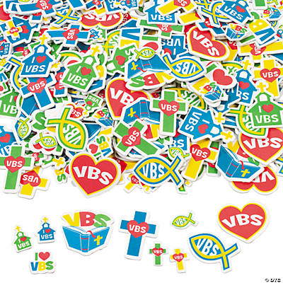VBS Foam Shapes