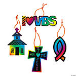 Magic Color Scratch VBS Ornaments