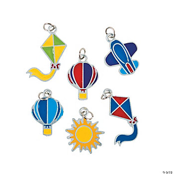 Up & Away Enamel Charms