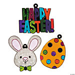 """Happy Easter"" Suncatchers"
