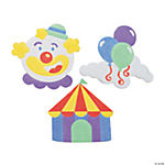 Carnival Shapes Sand Art Magnet Craft Kit
