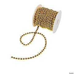 Gold Spool Of Pearls