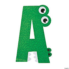 """A Is For Alligator"" Letter A Craft Kit"