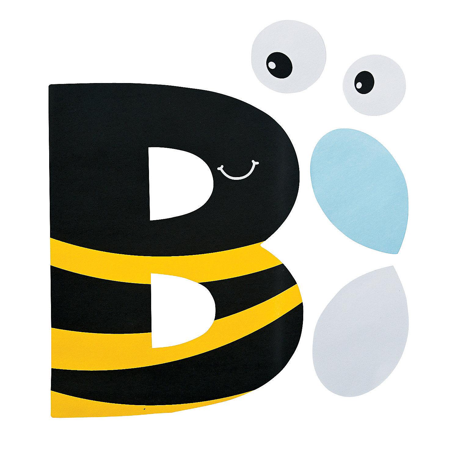 B Is For Bumblebee Letter B Craft Kit A2 48_8063 on E Is For Elephant Preschool Craft
