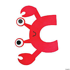 """C Is For Crabs"" Letter C Craft Kit"