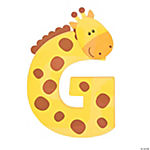 """G Is For Giraffes"" Letter G Craft Kit"
