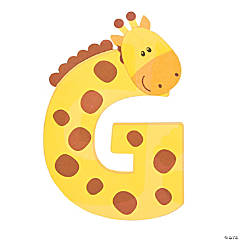 G Is For Giraffes Craft Kit