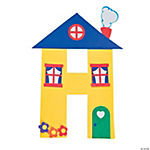 """H Is For Houses"" Letter H Craft Kit"