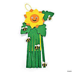 Mini Sunflower Windsock Craft Kit