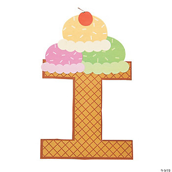 I Is For Ice Cream Craft Kit