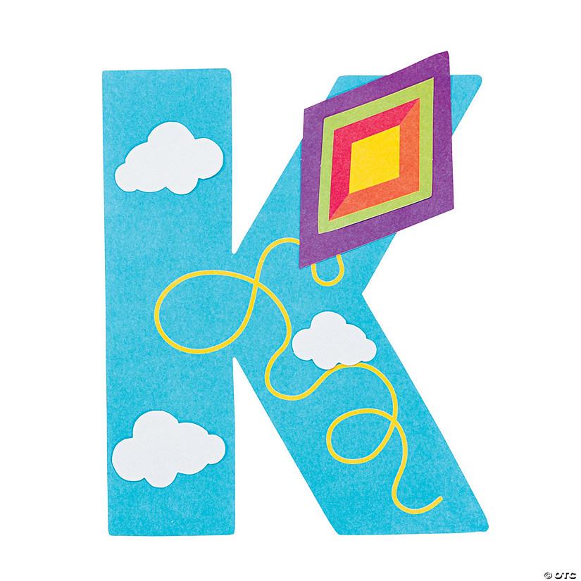 U0026#8220;K Is For Kitesu0026#8221; Letter K Craft Kit