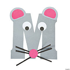 """M Is For Mice"" Letter M Craft Kit"