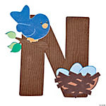 """N Is For Nests"" Letter N Craft Kit"